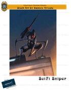 CSC Stock Art Presents: SciFi Sniper
