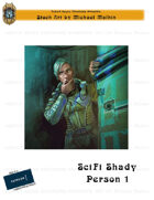 CSC Stock Art Presents: Scifi Shady Person 1