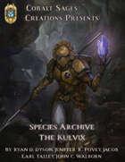 Species Archive: The Kulvix PF1E
