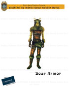 CSC Stock Art Presents: Boar Armor