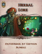 Herbal Lore First 7 Pathfinder 1E [BUNDLE]