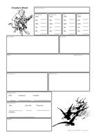 Timeless : Creatures - Creature Sheet
