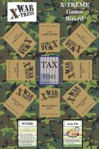 WAR X-TREME - Game Board Poster