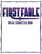 FirstFable: Ninja Character Book