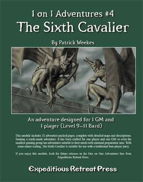 Cover of 1 on 1 Adventures #4: The Sixth Cavalier