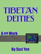 World Building Library: Tibetan Deities