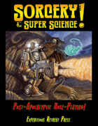 Sorcery & Super Science! 1st Edition Bundle [BUNDLE]