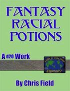 World Building Library: Fantasy Racial Potions