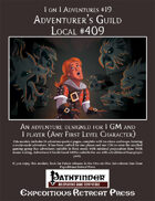 1 on 1 Adventures #19: Adventurer's Guild Local #409