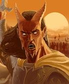 Pozas Prime: Tiefling Warlord