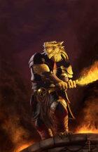 Pozas Prime: Dragonborn Chromatic Knight