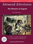 Advanced Adventures #43: The Warrens of Zagash