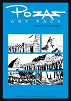 Pozas Art Pack Fantasy vol. 3: Landscapes