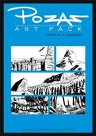 Pozas Art Pack Fantasy vol. 3: Landscapes