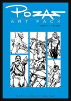 Pozas Art Pack Fantasy vol. 4: Pirates!