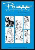Pozas Art Pack Fantasy vol. 6: Personas