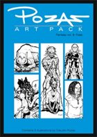 Pozas Art Pack Fantasy vol. 8: Foes