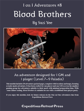 Cover of 1 on 1 Adventures #8: Blood Brothers