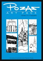 Pozas Art Pack: Fantasy vol. 9-Cityscapes