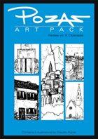 Pozas Art Pack: Fantasy vol. 9-Cityscapes