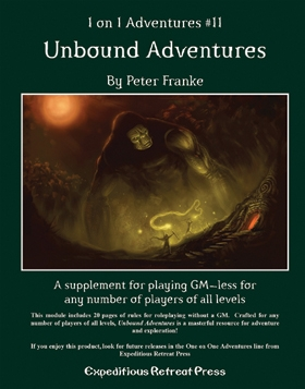 Cover of 1 on 1 Adventures #11: Unbound Adventures