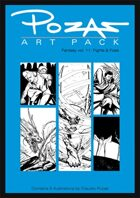 Pozas Art Pack: Fantasy vol. 11-Fights and Foes