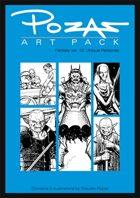 Pozas Art Pack: Fantasy vol. 12-Unique Personas