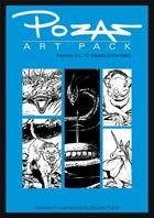 Pozas Art Pack: Fantasy vol. 13-Beasts & Monsters