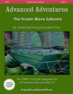 Advanced Adventures #17: The Frozen Wave Satsuma