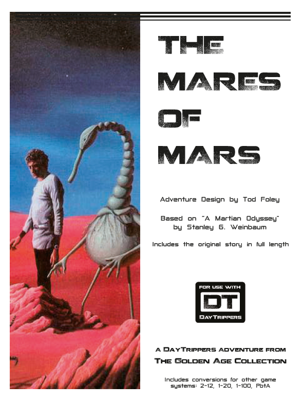 The Mares of Mars - a DayTrippers Adventure - As If ...