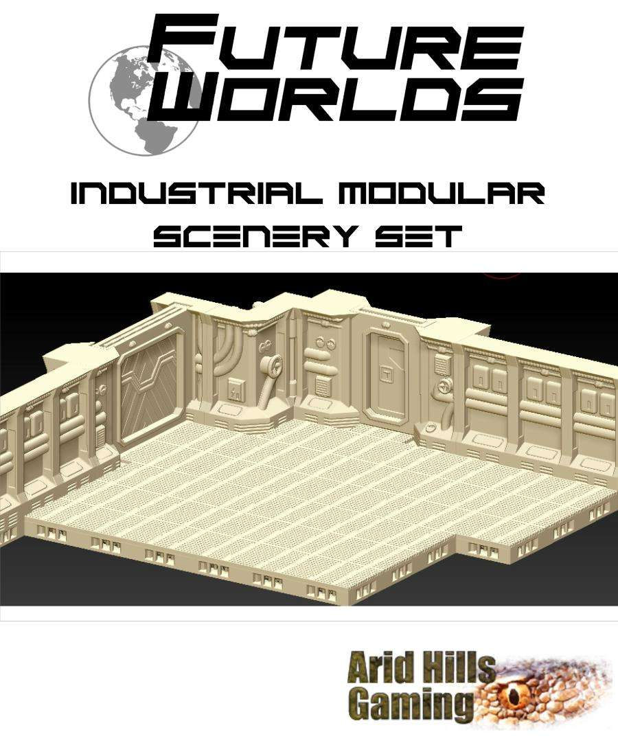 Future Worlds:  Industrial Modular Scenery Set