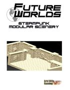 Future Worlds:  Steampunk Modular Scenery Set