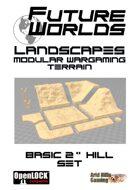 "Future Worlds Landscapes:  Basic 2""Hill Set"