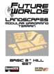 "Future Worlds Landscapes:  Basic 2""Hill Set"