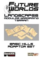 Future Worlds Landscapes:  Basic Hills Adaptor Set