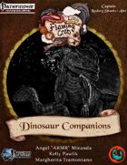 Letters from the Flaming Crab: Dinosaur Companions