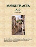 Marketplaces A-C
