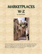Marketplaces W-Z