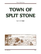 Town of Split Stone