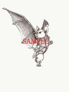 Bat - Humanoid: Stock Art