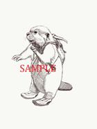 Beaver - Humanoid: Stock Art