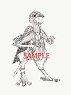 Bird - Humanoid: Stock Art