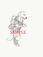 Dog - Humanoid: Stock Art