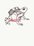 Frog - Humanoid: Stock Art