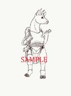 Proghorn - Humanoid: Stock Art