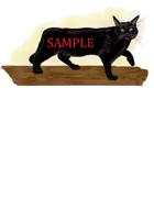 Black Cat: Stock Art