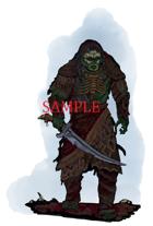 Orc - Barbarian: Stock Art