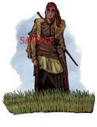 Female - Barbarian: Stock Art