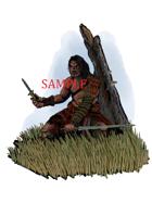 Male - Barbarian: Stock Art