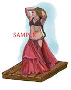 Bellydancer - Bard: Stock Art